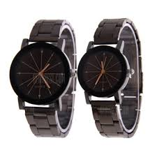 V5 Fashion Personality Meteor Shower Dial Quartz Lovers Watch ...