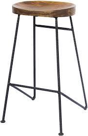 Home, Furniture & DIY Rolling Iron Base <b>Solid Mango</b> Wood Wind ...