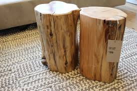 gallery of tree stump furniture fabulous tree stump side table toronto awesome tree trunk coffee table