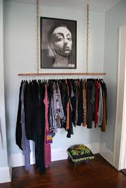 kitchen solution traditional closet: real small space closet solutions how to hang your clothes out in the open