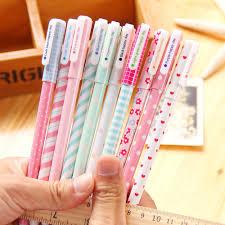 <b>10Pcs</b>/<b>Lot</b> New Cute Cartoon Colorful Gel Pen Set Kawaii <b>Stationery</b> ...