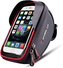 Bike Phone Mount Bag, Bicycle Frame Bike ... - Amazon.com