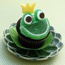 <b>Prince</b> Naveen <b>Frog Face</b> Cupcakes   Recipe