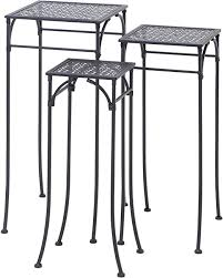 Deco 79 65798 3-Piece Metal Plant Stand Set ... - Amazon.com