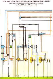 1972 vw super beetle wiring diagram wiring diagram thesamba type 1 wiring diagrams