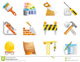 architecture and construction icons stock photo image  architecture and construction icons stock images