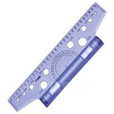 <b>Линейка</b> - рейсшина 30см пластиковый ролик <b>Стамм</b> ...