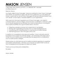 best product manager cover letter examples livecareer edit