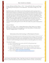 sociology paper sociology research paper review