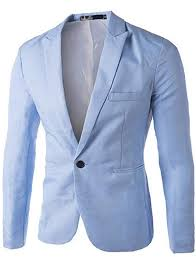 Mens <b>Slim</b> Fit Suit Jackets REYO Big Casual Charm One Button Suit ...