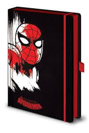 Записная книжка Marvel Comics (Spider-Man Mono) Premium A5 ...