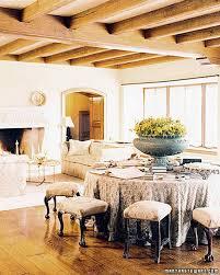 dining room khaki tone:  a  cntrsprd xl