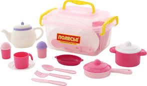 <b>Полесье Набор</b> игрушечной <b>посуды Настенька</b> 59055, цвет в ...