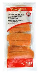 OCEAN JEWEL Wild <b>Pacific Pink Salmon</b> Portions   Walmart Canada