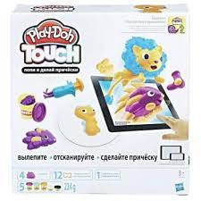 <b>Масса для лепки</b> Play-Doh Лепи и делай прически (B9018) купить ...