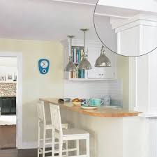 kitchen moldings: less crown more impact  crown molding  less crown more impact