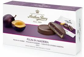 Купить <b>Шоколадные конфеты ANTHON</b> BERG Plum in Madeira ...