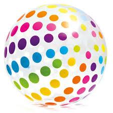 <b>Мяч надувной Best way юпитер</b> с подсветкой 61 см (31043 ...
