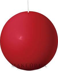 <b>Bolsius</b> Candle - <b>Свеча круглая</b>, красная, 80 мм: купить по лучшей ...