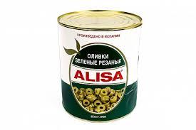 <b>Оливки</b> резаные «<b>ALISA</b>» 3,000кг/ж/<b>б</b> купить по цене 670 руб <b>в</b> ...