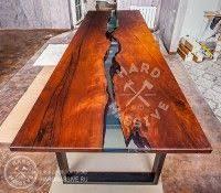 <b>Table</b>-<b>river</b> Edinak. Large <b>dining table</b>.<b>Table</b> made of solid wood ...