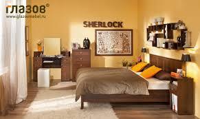 Sherlock 55 <b>Трюмо</b> с ящиками (Орех Шоколадный ...