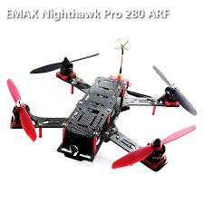 EMAX Nighthawk Pro 280 ARF Mixed Quadcopter with Camera ...