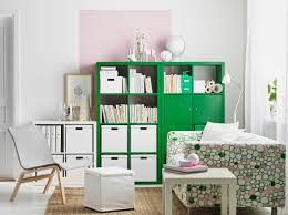 white ikea living area