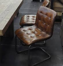 vintage leather chair perfect as a dining or office chair sturdy metal frame comfort is second bedroomcute eames office chair chairs vintage