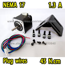 <b>NEW ARRIVAL Nema17 Stepper</b> motor 17HS15 1304S Plug Type ...