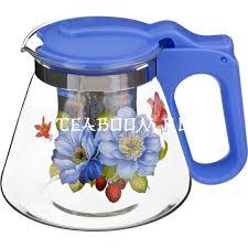 Купить <b>чайник заварочный AGNESS</b> с жестким фильтром из нжс ...