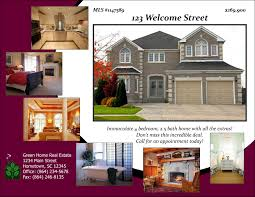 open house designs real estate flyers booklets postcards and share this