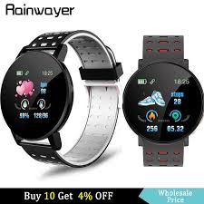 <b>119 Plus Smart Watch Smart Bracelet</b> Heart Rate men watch ...