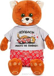 "<b>Мягкая игрушка Колбаскин & Мышель</b> ""<b>Колбаскин</b> в красных ..."