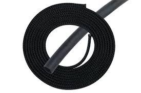 "<b>Phobya Simple</b> Sleeve <b>Kit</b> 6mm (1/4"") Schwarz 2m incl. Heatshrink ..."