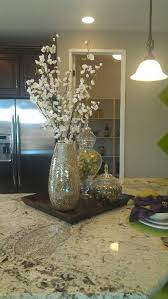 dishy kitchen counter decorating ideas: minimodel staging kitchen countertop or kitchen bar will work for a built in desk