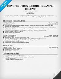 resume sample general labor general labor resume sample three service resume construction laborer resume sample general labour resume sample