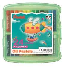 Товары для художников: <b>Пастель масляная Pentel Arts</b> Oil Pastels ...