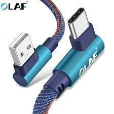 Goede Koop <b>OLAF</b> 2 M USB <b>Type C</b> 90 Graden Snel Opladen Usb ...