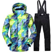 <b>New Hot Ski Suit</b> Men Winter New Outdoor Windproof Waterproof ...