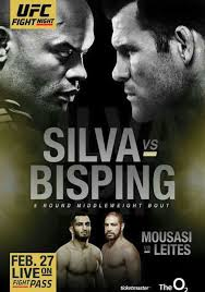 ANDERSON SILVA VS MICHAEL BISPING UFC