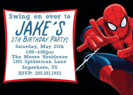 printable spiderman birthday invitation templates shelton s printable spiderman birthday invitation templates