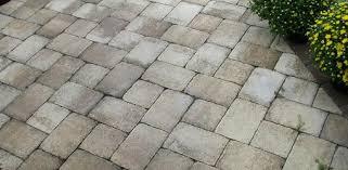 cement patio unique image