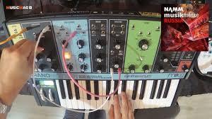 <b>Moog Grandmother</b>: полумодульный <b>синтезатор</b> - демо звучания ...