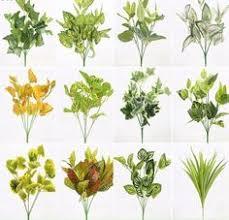 <b>7</b>-<b>fork</b> Vert En Plastique <b>Plantes Artificielles</b> Herbe Imitation Tour Pin ...
