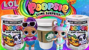 <b>Poopsie</b> Slime Surprise + LOL Dolls!   Unicorn Poop <b>MGA</b> ...