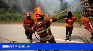 Fogo em Vila Nova de Foz Côa mobiliza mais de duas centenas de operacionais