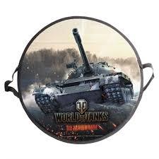 <b>Ледянка</b>-сэндвич <b>World of Tanks</b>, круглая 52х1см, купить в ...