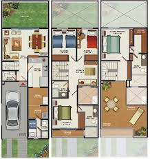 M HOUSE PLANS FLOORS BEDROOMS   HOME PLANS DESIGN  Free    Drawings of a m house of three floors and four bedrooms