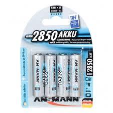 Аккумулятор <b>Ansmann</b> LR6 AA 2850 mAh (уп 4 шт) — купить в ...